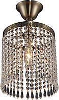 Люстра Хрустальная   Светильник Потолочный Altalusse INL-1120P-01 Antique Brass