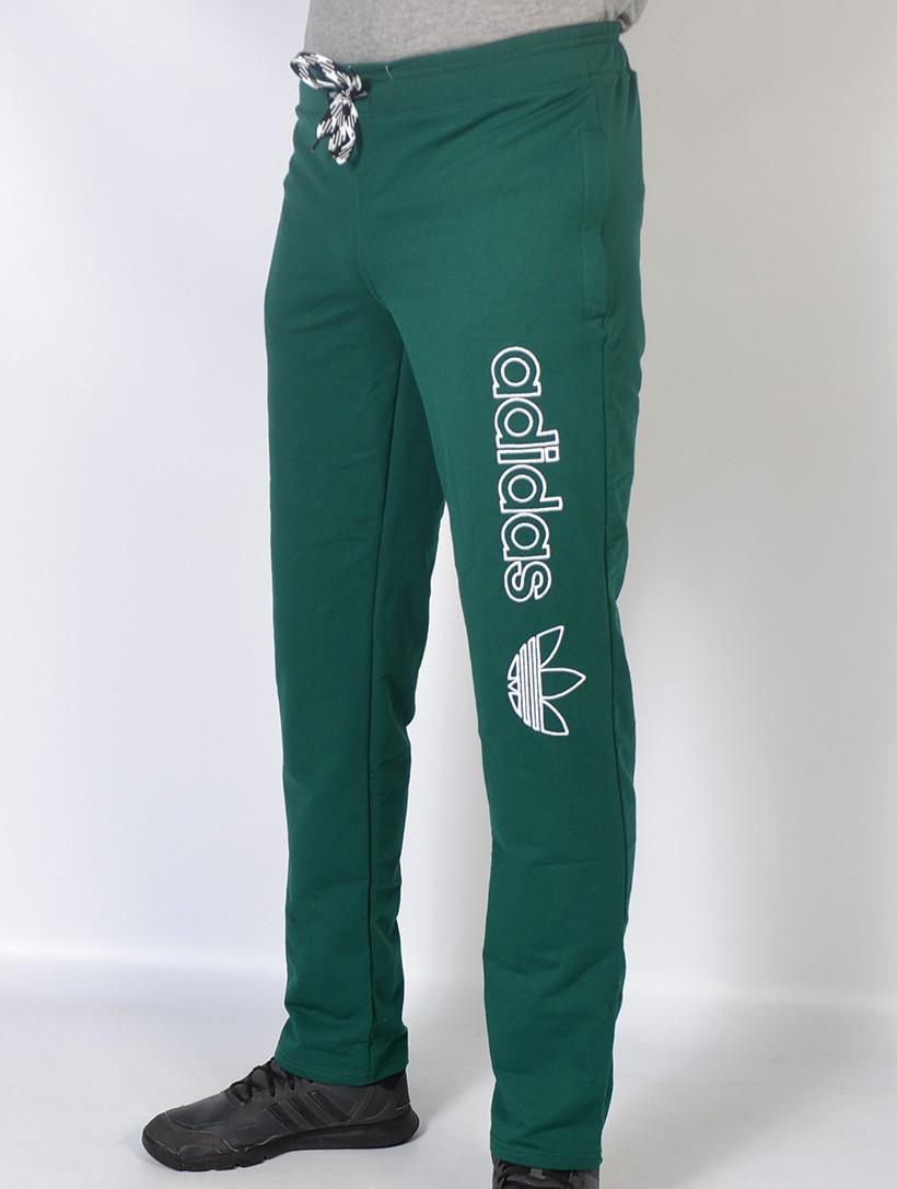 Чоловічі трикотажні спортивні штани в стилі Adidas-зелені  bd367f2b7f021