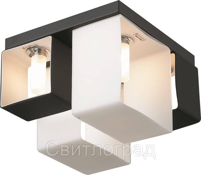 Светильник Потолочный с Плафонами    Altalusse INL-9074C-4 White & Black