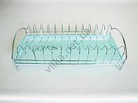 Сушарка нерж. для тарілок з піддоном VT6-14367-1(40шт)