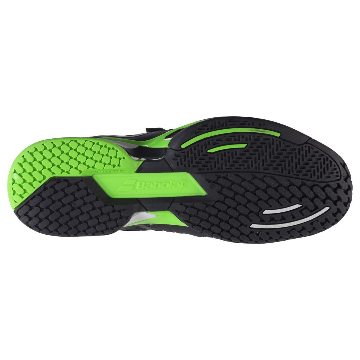 bab1eb94 ... Кроссовки теннисные мужские BABOLAT Propulse BPM AC wim black/green  (30S1576/166) ...