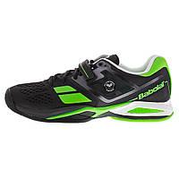Кроссовки теннисные мужские BABOLAT Propulse BPM AC wim black/green (30S1576/166) , фото 1