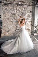 """Прокат 8 840 грн. Свадебное платье «Dream of me"""" с длинным шлейфом"""