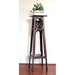 Столик (подставка) для цветов резбленный