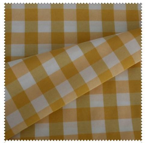 Скатерть Весна клетка желтый 150± 5 см - Кolorsvit - шторы-нити, ткани и акссесуары! в Одессе