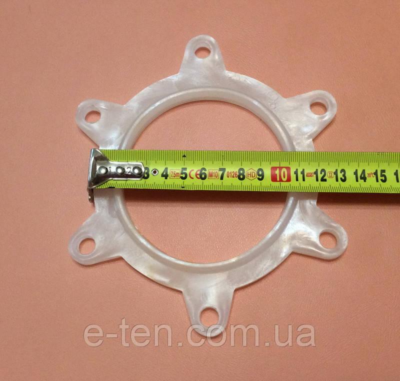 Уплотнитель резиново-силиконовый для бойлеров Gorenje - прокладка под 6-болтовый фланец Ø165мм под сухие тэны