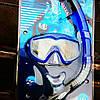 Маска и трубка для плавания. Набор  Intex 55962
