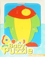 Развивающая игрушка Рыбка с красным хвостом Baby puzzles, Wader (39340-6)