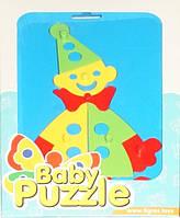 Развивающая игрушка Клоун Baby puzzles, Wader (39340-7)