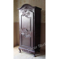 Стильный небольшой шкаф (гардероб) 1-дверный