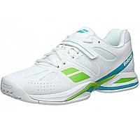 Кроссовки теннисные женские BABOLAT Propulse BPM AC white/green (31S1574/101), фото 1