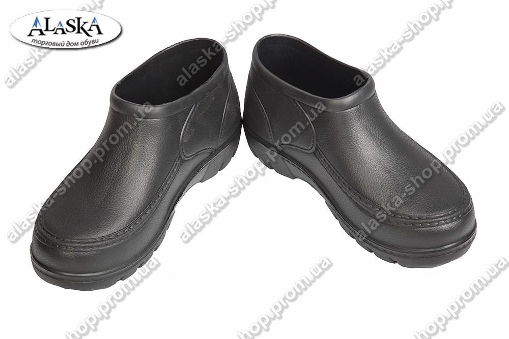 Мужские галоши черные (Код: Б-10)