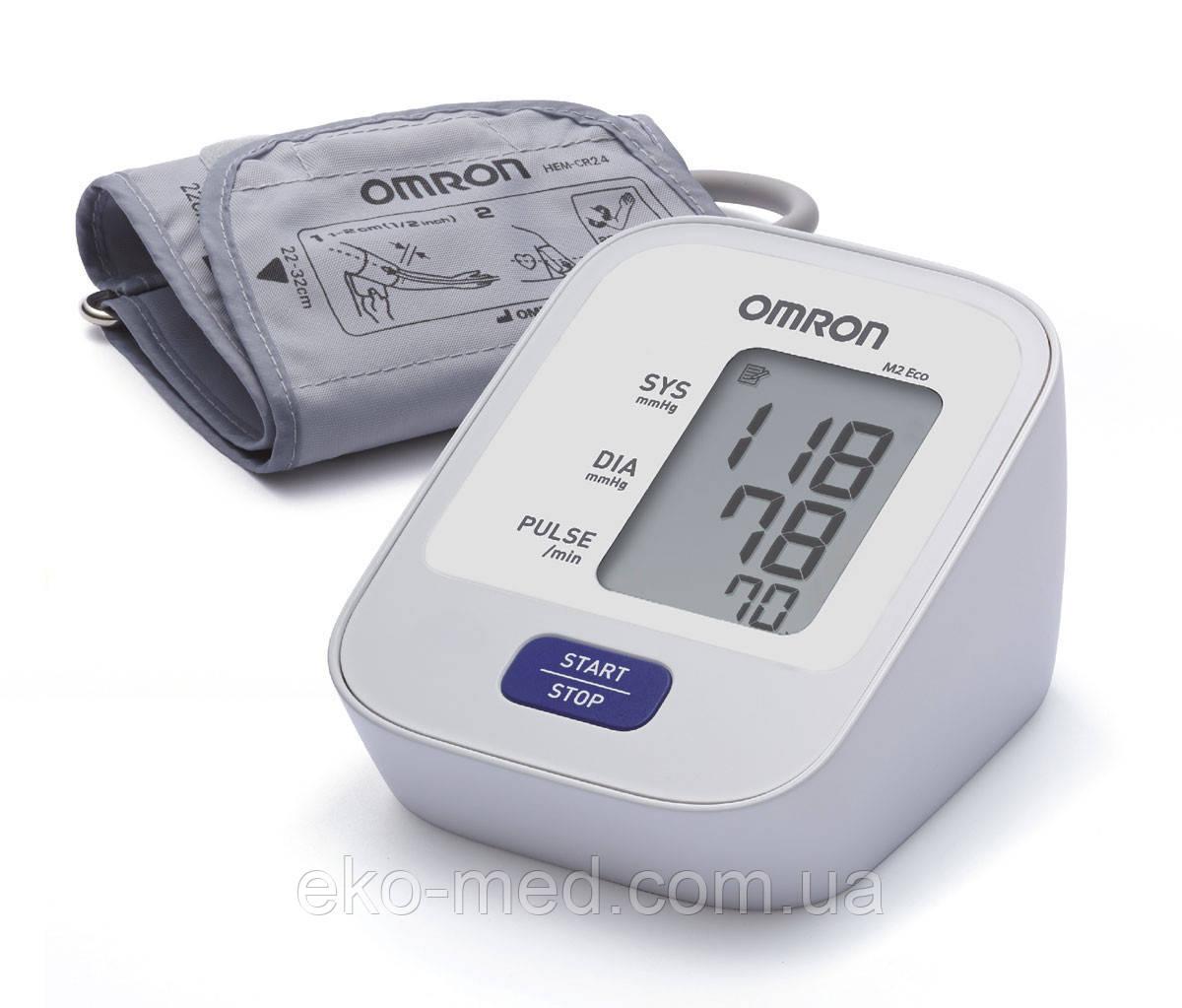 Тонометр автоматичний OMRON M2 ECO з манжетою 22-32 см