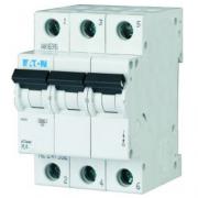 Автоматический выключатель 16A 4,5кА 3 полюса тип C PL4-C16/3 Eaton (Moeller)