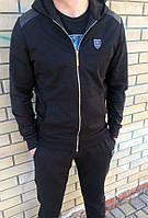 Черный мужской спортивный костюм Philipp Plein весна