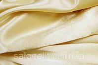 Ткань Креп сатин  цвет : светлое золото