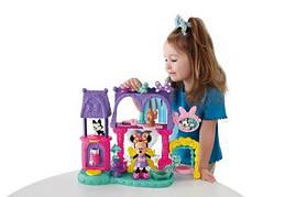 Fisher-Price Игровой набор Минни Маус Салон для питомцев Disney's Minnie Mouse Bowtique Pampering