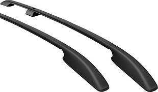 Рейлинги Peugeot Partner 1997-2008  черные Can Otomotiv (пласт.ножка)  (крепление на автоклей)