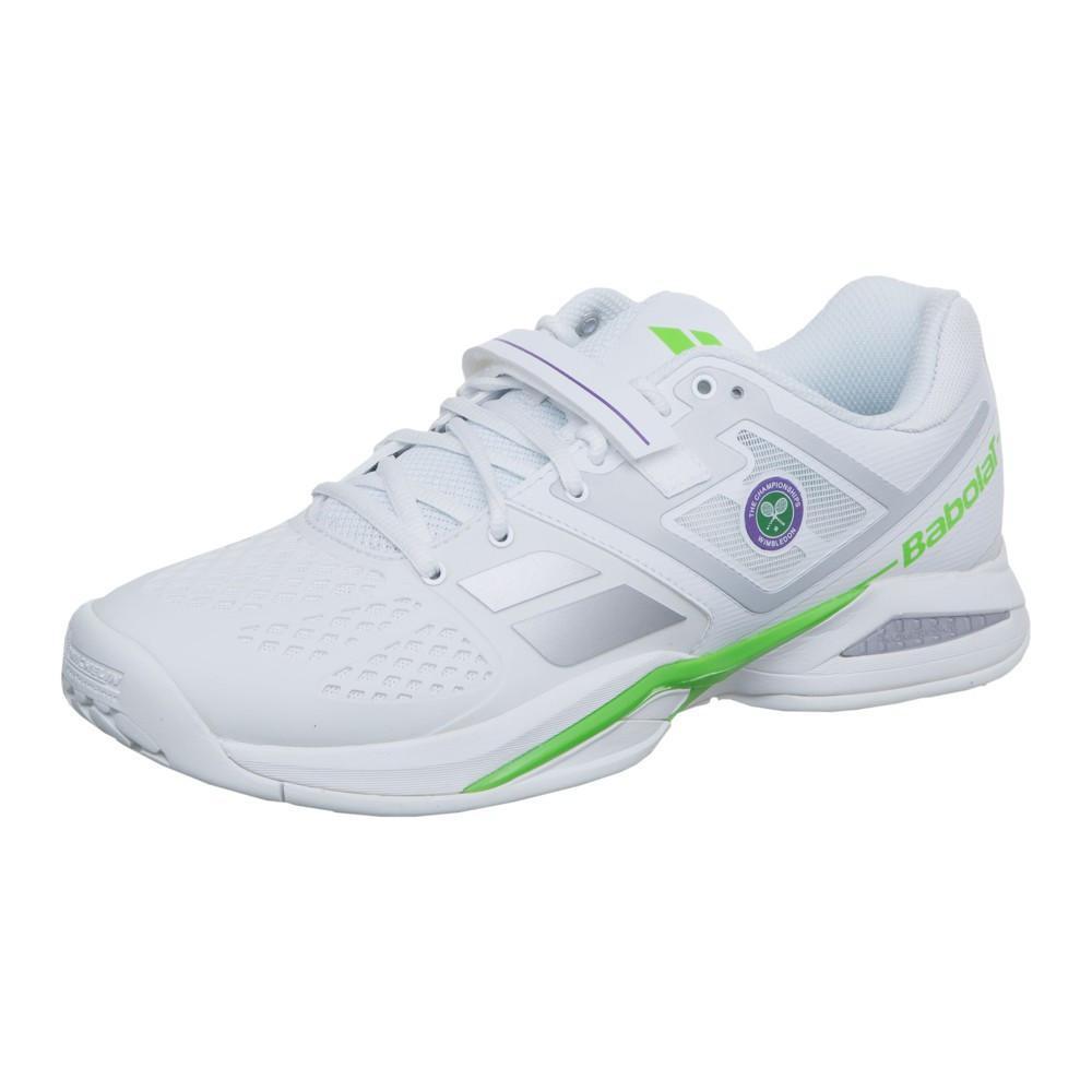 c853e0ee Кроссовки теннисные мужские Babolat Propulse BPM AC wim white/green  (30S1576/150)