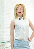 Женские штаны брюки весенние  голубые , фото 3