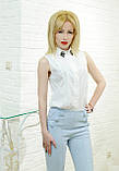 Женские штаны брюки весенние  голубые , фото 2