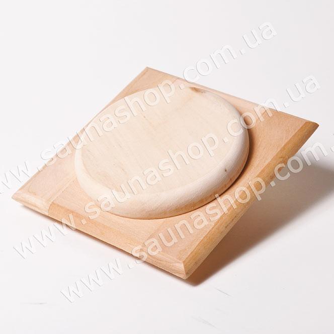 Клапан вентиляции для бани и сауны 100 мм., липа