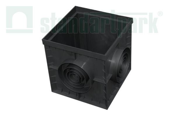 Дождеприемник пластиковый 300x300 чорный