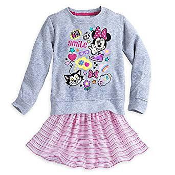 Набор для девочки 5/6 лет Минни Маус Дисней / Minnie Mouse Clubhouse Skirt Set Disney