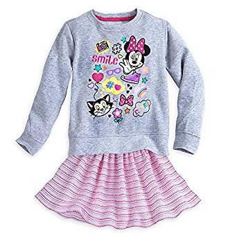 Костюм для девочки 5/6 лет Минни Маус Дисней / Minnie Mouse Clubhouse Skirt Set Disney