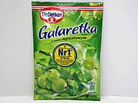 Желе Galaretka Dr.Oetker со вкусом крыжовника 77 г