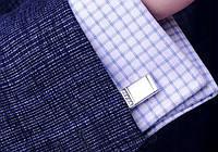 Универсальные запонки под рубашку. Качественные и модные. На каждый день. Доступная цена. Дешево. Код: КГ713