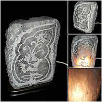 Соляная лампа ддля ионизации воздуха 16х9,5 см ручная работа 305