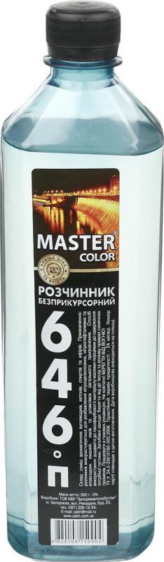 Акц.Уайт-спирит Master Color 440гр/0,8л/21шт. квадрат