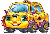 М які машинки: Такси (р) 12стор., м'яка обкл. 21.5x45.3 /20/ (m+)