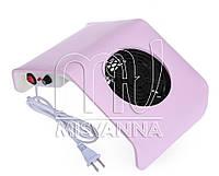 Настольная вытяжка (пылесос) Nail Dust Collector DC-858-2 на 20 Вт (pink) 280х125х180 мм