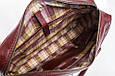 Кожаная мужская деловая сумка Blamont 001 коричневая, фото 7