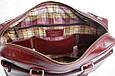 Кожаная мужская деловая сумка Blamont 001 коричневая, фото 8