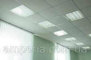 Светильник ДВО 40W 60x60 4200К prismatic, фото 3