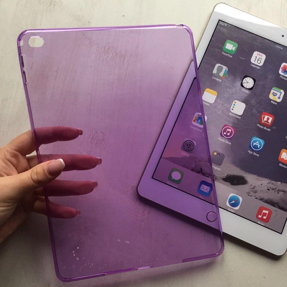 Фиолетовая силиконовая накладка  для iPad Air 2