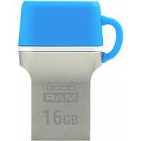 USB флеш накопитель GOODRAM 16GB ODD3 Dual Drive Blue USB 3.0 Type C (ODD3-0160B0R11)