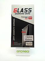 Защитное стекло на Samsung A310 + пленка на заднюю крышку, закаленное для мобильного телефона.