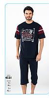 Пижама капри мужская FALKOM арт: 4531