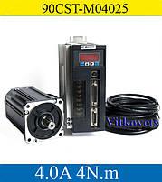 Сервомотор, серводрайвер 90CST-M04025, 1000W