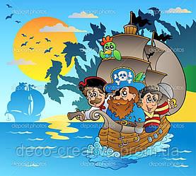 Фотообои в детскую Пираты