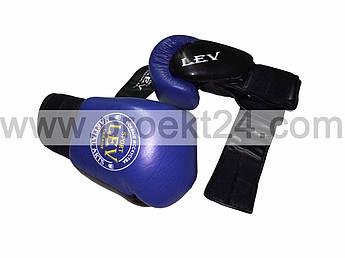 """Боксерские перчатки """"Вип"""" кожа-14 oz"""