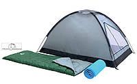 Набор Bestway Campak 68000 Палатка + 2 спальника+2 каремата