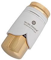 Термоголовка Schlosser Brillant SH (M30x1.5) белое-золото (600200008)