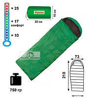 Спальный мешок-одеяло Alpinist 100 с подголовником