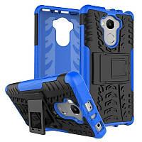 Чехол Xiaomi Redmi 4 / 4 Pro / 4 Prime противоударный бампер синий