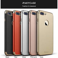 Чехол Ipaky 3 in 1 Joint case для iphone 7 черный, фото 1